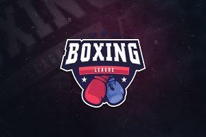 Boxing League E-Sports Logo