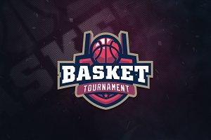 Basketball Club Sports Logo