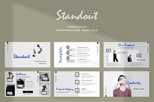 Standout - Powerpoint Presentation