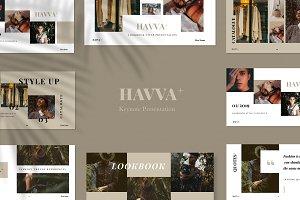 Havva+ Keynote Presentation