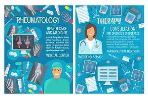 Rheumatology therapy and doctor