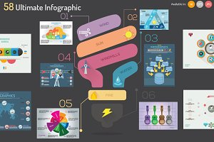 58 Ultimate Infographics
