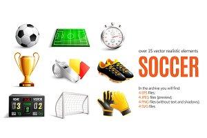 Soccer Realistic Set