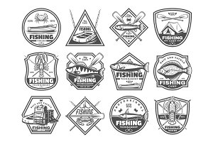 Fishing tackles and fisher tours