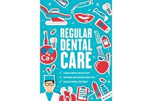 Dental care and dentistry medicine