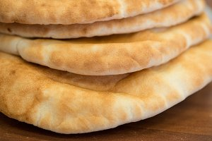Pita Bread Stack