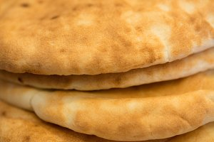 Pita Bread Stack 2