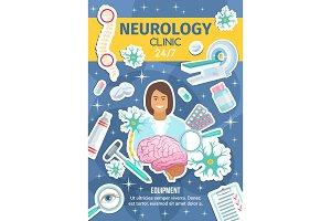 Neurology clinic, neural healthcare