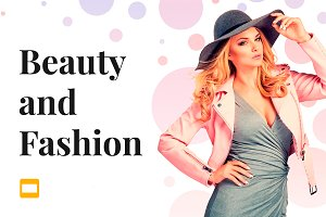 Beauty and Fashion Google Slides