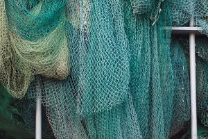 Green Fish Nets