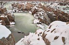 Winter Jade Falls