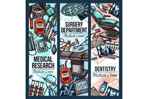 Dentistry surgery, medical research