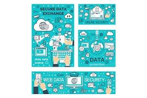 Secure online data exchange