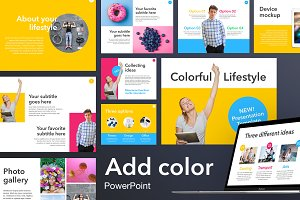 Add Color PowerPoint Template