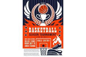 Basketball game season