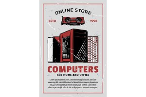 Electronics and computers store