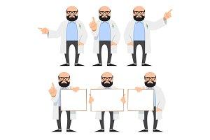 Doctor, scientist, teacher