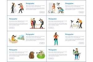 Photographer Profession and Hobby