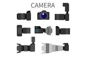 Set High Resolution Action Cameras