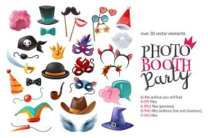 Photo Booth Party Set