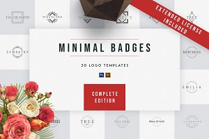 Minimal Badges | 30 Logo Templates