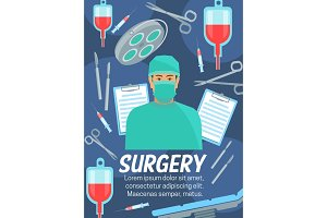 Surgery medical service and doctor