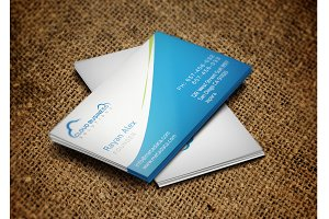 Cloud Business Card + Logo