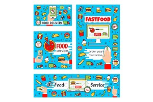 Fast food delivery and online order