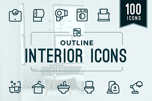Home Interior / Household Icons