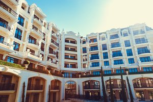 luxury hotel complex