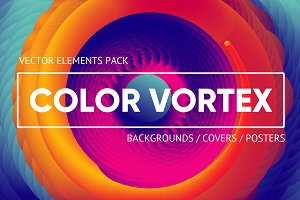 Color Vortex Vector Pack