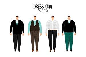 Men formal dress code