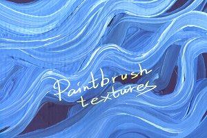 Brushstroke texture