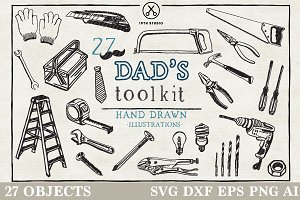 Dad's Toolkit Illustration Pack