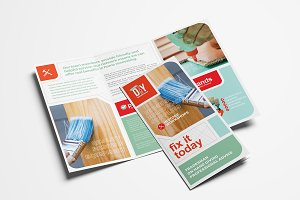 DIY Tool Supply Tri-Fold Brochure