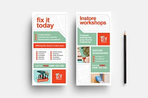DIY Tool Supply DL Card Template