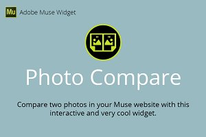 Photo Compare Adobe Muse Widget