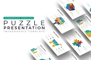 Puzzle Presentation - Infographic