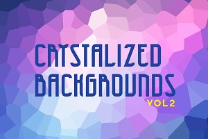 Crystallized Backgrounds Vol 2