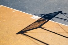 Basketball court by  in Sports