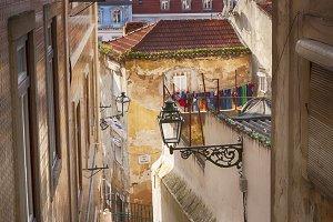 Lisbon's city streets