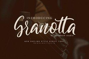 Granotta- Dazling Font - Discount