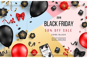 Black Friday with Frame