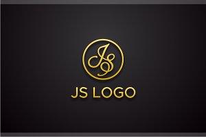 Letter JS Logo