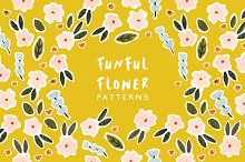 33% Off Funful Flower Patterns by  in Patterns