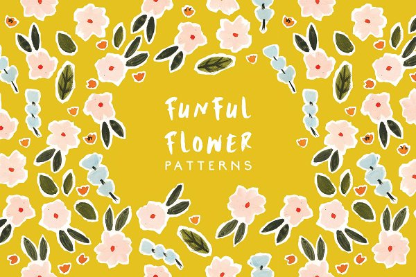 Patterns: Emma Make - Funful Flower Patterns