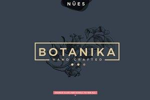 Botanical Flower Logo