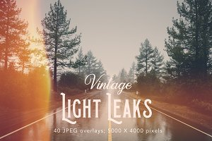 Retro light leaks