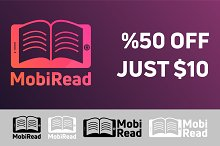 Mobiread Reading & Book App Logo