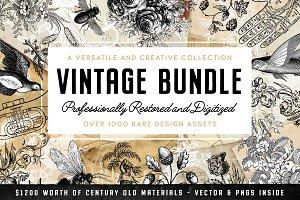 Vintage Graphics Design Pack (-50%)